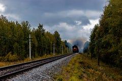 Diesel locomotive Stock Photos