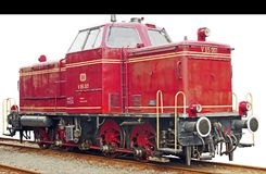 Diesel Locomotive, Operational Stock Images