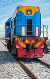 Diesel Locomotive Stock Photo