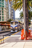 Diesel locomotive; San Diego, Royalty Free Stock Images