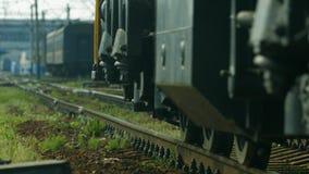 Diesel locomotive. stock video footage