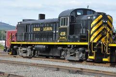 Diesel Locomotive at Steamtown National Historic Site in Scranton, Pennsylvania Stock Photos