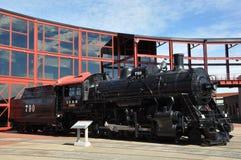 Diesel Locomotive at Steamtown National Historic Site in Scranton, Pennsylvania Stock Images