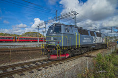 Diesel locomotive, stena tmz1422 Stock Image