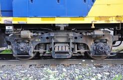Diesel Locomotive wheel Royalty Free Stock Photography