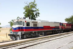 Diesel locomotives Stock Photos