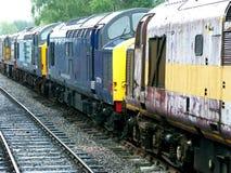 Diesel- locos Royaltyfria Foton