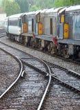Diesel- locos Arkivbild
