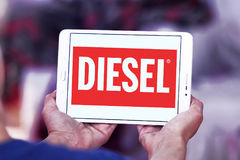 Diesel logo Royalty Free Stock Images