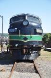 diesel- lokomotiv Royaltyfri Foto