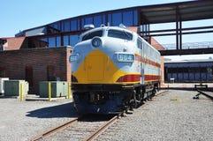 diesel- lokomotiv Royaltyfri Fotografi