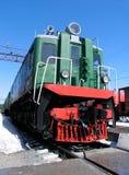 diesel- lokomotiv Royaltyfri Bild