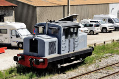 Diesel- lokomotiv Arkivbilder