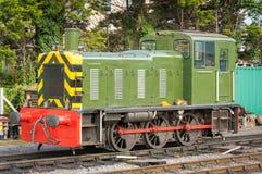 Diesel- lokomotiv Royaltyfria Foton