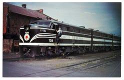 Diesel- lokomotiv för ALCO FA-1 Arkivbilder