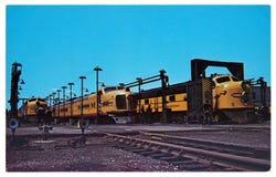 Diesel- lokomotiv för ALCO FA-1 Arkivfoto