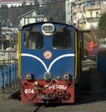 Diesel- lokomotiv för smalt mått Arkivbilder