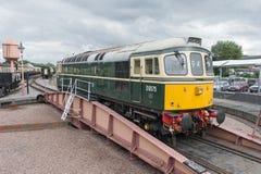 Diesel- lokomotiv för tappning Royaltyfri Bild