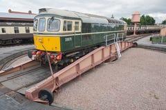 Diesel- lokomotiv för tappning Royaltyfri Fotografi