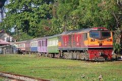 Diesel- lokomotiv inga för Ge 4550 Arkivfoton