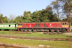 Diesel- lokomotiv inga för Ge 4550 Fotografering för Bildbyråer