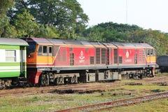 Diesel- lokomotiv inga för Ge 4550 Royaltyfria Bilder