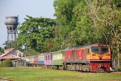 Diesel- lokomotiv inga för Ge 4550 Royaltyfria Foton