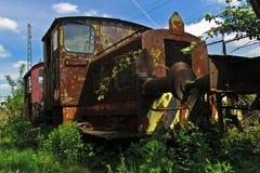 Diesel lokomotive Στοκ Εικόνες