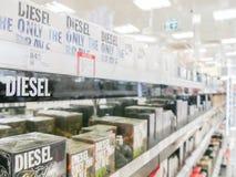 Diesel perfumes Royalty Free Stock Photos
