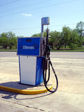 Diesel pomp Royalty-vrije Stock Afbeelding