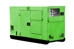 Diesel power generator. Stock Photo