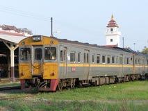 Diesel- Railcar ingen för THN 1112 Arkivbild