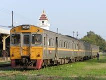 Diesel- Railcar ingen för THN 1112 Fotografering för Bildbyråer