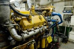 Diesel retro do motor da nave espacial Fotografia de Stock