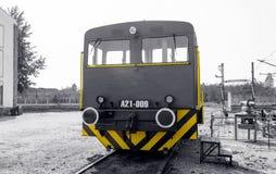 Diesel- shunter A21-009 för MAV Arkivbild