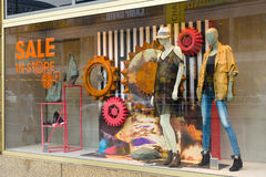 Diesel Store on Kurfuerstendamm Royalty Free Stock Photo