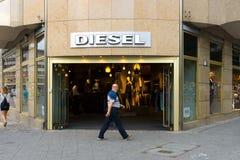 Diesel Store on Kurfuerstendamm stock image