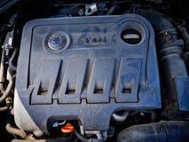 Diesel TDI engine Royalty Free Stock Photos