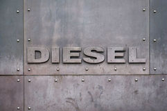 Diesel. At 5th avenue in New York city Royalty Free Stock Image