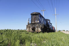 Diesel Train Approaching Stock Photos