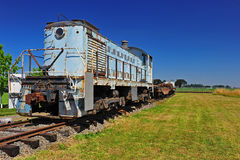 Diesel Train Engine Stock Photography