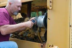 Diesel Werktuigkundige Stock Afbeelding