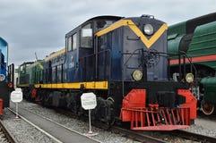 Dieselelektrisk lokomotiv Da20-09 (ALCO RSD-1) Arkivfoto