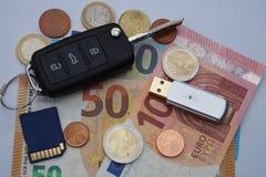 Dieselgate - Automobilowi utrzymanie koszty zdjęcia stock