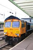 Diesellokomotive Klasse 66 GBs Railfreight, Carlisle Stockfoto