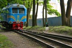 Diesellokomotive TU2 Lizenzfreie Stockbilder