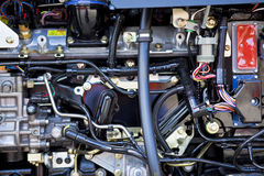 Dieselmotor Lizenzfreies Stockfoto