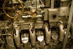 dieselmotor Royaltyfria Foton