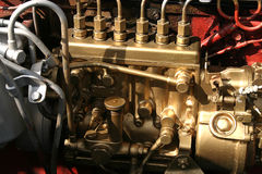 Dieselmotor Stock Foto's