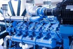 Dieselmotor för fartyg arkivbilder